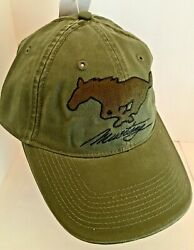 Ford Mustang Licensed Cotton Khaki Green and Brown Hat NEW! $15.00