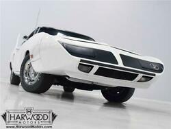 1970 Plymouth Superbird  1970 Plymouth Superbird  500 Miles Alpine White Hardtop 440 cubic inch V8 Automa