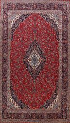 Vintage Floral Traditional Hand-knotted Wool Dining Room Large Area Rug 10x15 Ft