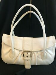 White Celine Designer Purse Hand Bag  $50.00