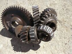 Allis Chalmers Ca Tractor Ac Original Transmission Gear Gears From Top Shaft