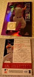 Jeff Bagwell 2003 Leaf Limited Threads Jersey Button 146 Ser 1/6 Rare Astros