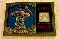 Roger Clemens 2016 Topps Gypsy Queen Jersey Button Masterpiece Ser 1/1 Red Sox