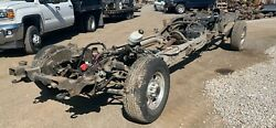 01-10 2wd Crew Cab Long Bed Rolling Chassis Frame Chevy Gmc K2500hd 3.73 11.5