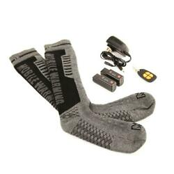 Mobile Warming Heated Socks With Lithium Battery - 2018 Model $99.95
