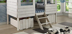 Donco Kids 1381-rs Dual Loft Drawers One Size Rustic Sand