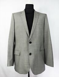 Hugo Boss Aiko / Heise Red Label Two Button Wool Blend Suit Blazer Jacket Us 44r