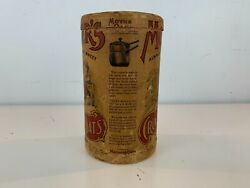 Antique Advertising Mother's Crushed Oats 1lb 4 Oz Quaker Oats Company Canister