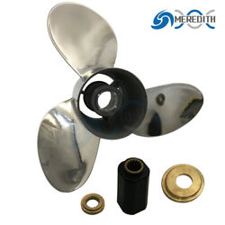 Stainless Steel-outboard-propeller 14-1/2x19 For Yamaha 150-250hp 6g5-45978-03