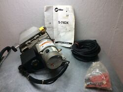 Miller S-74dx Wire Feeder New Drive Assembly Mig 115vdc