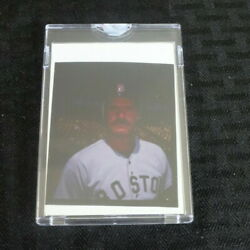 Topps Vault Wade Boggs 1988 Topps 388 Boston Red Sox 1/1