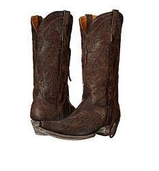 Old Gringo Choctaw Brown Vintage Cowboy Cowgirl Western Boots 6.5 Womens