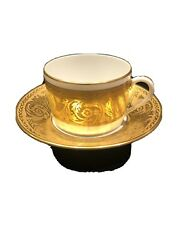 Robert Haviland Limoges France Versaille Pattern Flatcup And Saucer/discontinued