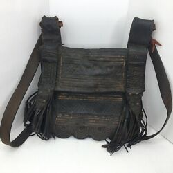 Antique Excellent Handmade Leather Bag (circa late 1800searly 1900s) $788.00