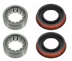 Wheel Bearing And Seal Rear Lh And Rh Pair For Chevy Gmc Hummer 8.5 8.6 Gm Aam Axle