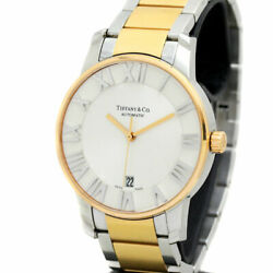 And Co. Atlas Dome K18 Automatic Stainless Steel Menand039s Watch [b0718]