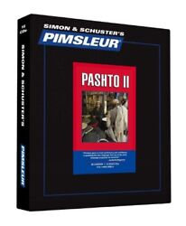 Pimsleur Pashto Level 2 16 Cds Learn To Speak And Understand Pashto - New