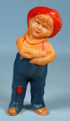 1920s Jackie Coogan Celluloid Figural Toy Vco Viscoloid The Kid Charlie Chaplin