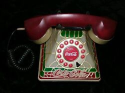 Authentic Vintage Coca-cola Light Up Home Phone Fully Working