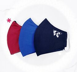 Reusable Face Mask (Pack of 3) - High Quality Washable Multi-Color $9.95