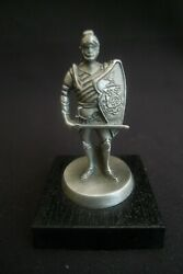Vintage Franklin Mint Pewter Classic Car Hood Ornament Stearns-knight 1983 Excl