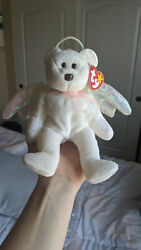 Ty Beanie Halo, Brown Nose, Tag Error, Mint Condition