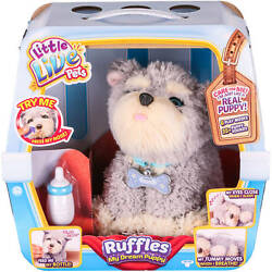 New Rear Little Live Pets Ruffles My Dream Puppy Interactive Play Dog Toy Gift