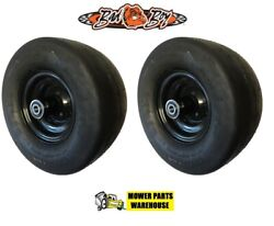2 New Tire And Wheel Assemblies For Bad Boy Mower 022-8049-00 11x6.00-5 Mz