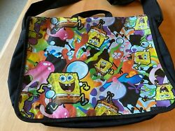 GLOBAL DESIGN CONCEPTS 2009 SPONGEBOB NICKELODEON MESSENGER BAG GREAT GRAPHICS $4,999.00