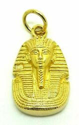 20k Solid Yellow Gold Heavy Egyptian Pendant 21.4 Grams