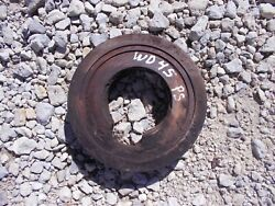 Allis Chalmers Wd45 45 Tractor Ac Orignal Power Steering Double 2nd Drive Pulley