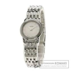 Omega Devil Prestige Watch Stainless Steel Ss Ladies From Japan [a0724]