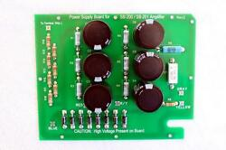 New Power Supply Board For Heathkit Sb-200 / Sb-201 Amp - Assembled In Usa