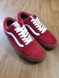 Red Golf Wang Syndicate Limited Edition Professional Skatebaord Shoe Sz 7.5