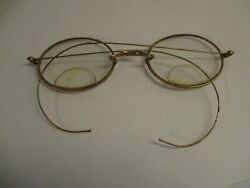 A lovely pair of vintage eye glasses with a case  $18.00