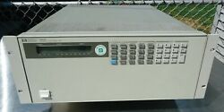 Hp 6050a System Dc Electronic Load With Hp 60507b Option Hp-ib, Made In Usa.