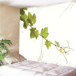 Leaves Swaying In The Wind 3d Wall Hang Cloth Tapestry Fabric Decorations Decor