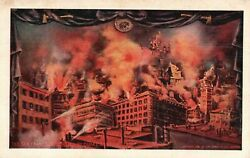 The San Francisco Disaster By Earthquake And Fire 1906, Vintage Postcard A84