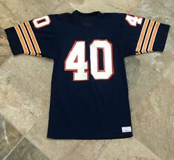 Vintage Chicago Bears Gale Sayers Sand Knit Football Jersey, Size Medium