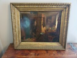 Erskine Nicol/1825-1904/ Scottish Master Signed Oil On Canvas Caught In The Act