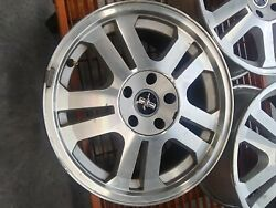17 Used Mustang Rims With Some Curb Rash.