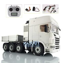 Lesu 1/14 Metal 88 Scania Chassis Sound Radio Hercules R730 Cab Tractor Truck