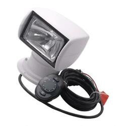100w Spotlight Searchlight With Remote For Car Boat Truck / 3200k Bulb