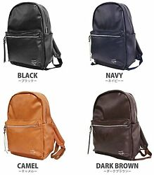 100% Authentic Anello AT B1512 Backpack Synthetic leather 4 Color Design Japan $49.71