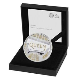 Queen 2020 Uk One Ounce Silver Proof Coin Limited Edition 7500 Sold Out