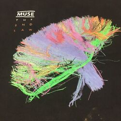 Muse Xl Black T-shirt The 2nd Law North America 2013 Tour Hard Rock Band