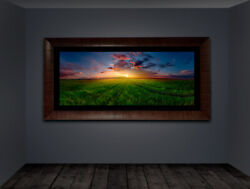 Prairie Sun   Limited Edition Acrylic Mounted Metallic Print   Signed Numbered