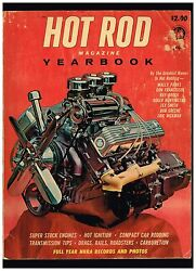 HOT ROD YEARBOOK 1961 NO 1 CONTENTS HOTRODS CUSTOMS DRAGS RAILS NHRA RECORDS
