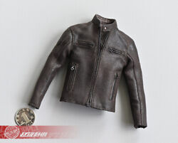 1/6 Male Motor Jacket Coat Suit Clothing Fit 12and039and039 Ph Ht Action Figure Body Model