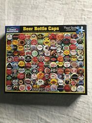 New White Mountain 1000pc. Puzzle Beer Bottle Caps 24in X 30in